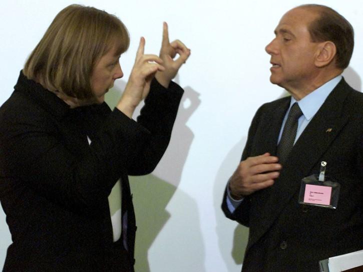 Merkel 2001 Berlusconi