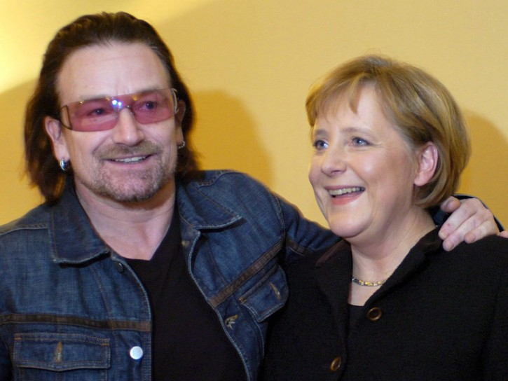 Merkel 2006 Bono
