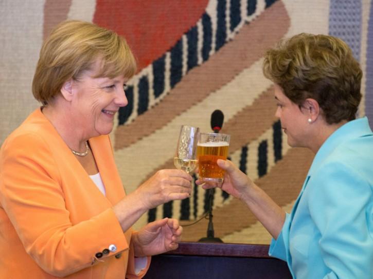 Merkel 2015 Dilma Rousseff