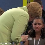 Merkel 2015 adolescente palestinese