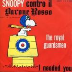 Snoopy aviatore alle prese con il barone Rosso, suo nemico immaginario 1