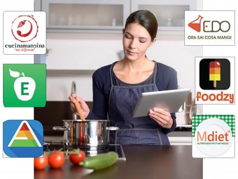 Le app per mangiare meglio