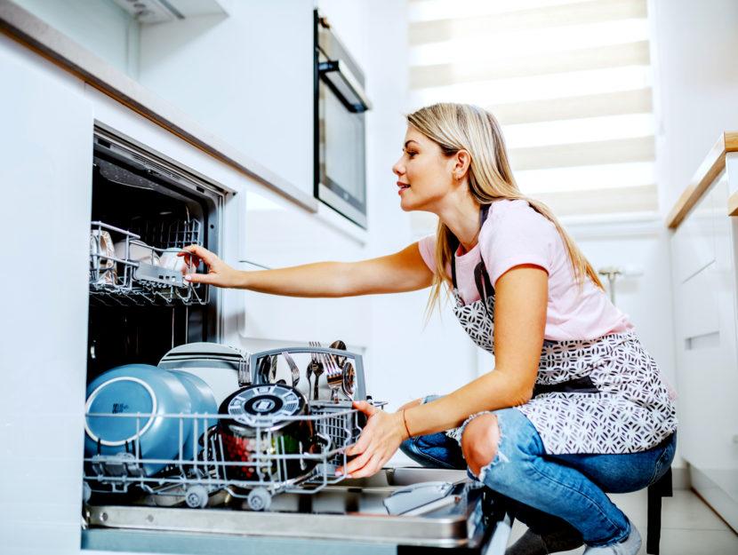 igienizzare la lavastoviglie