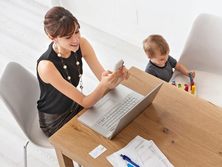 Donne e lavoro figli