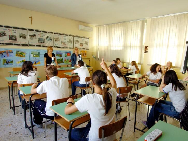 Ragazzi classe scuola