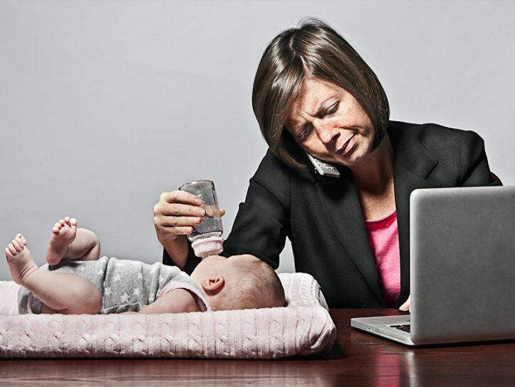 I pregiudizi sulle mamme lavoratrici
