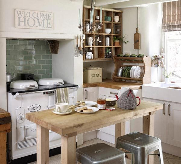 Lo stile country in cucina