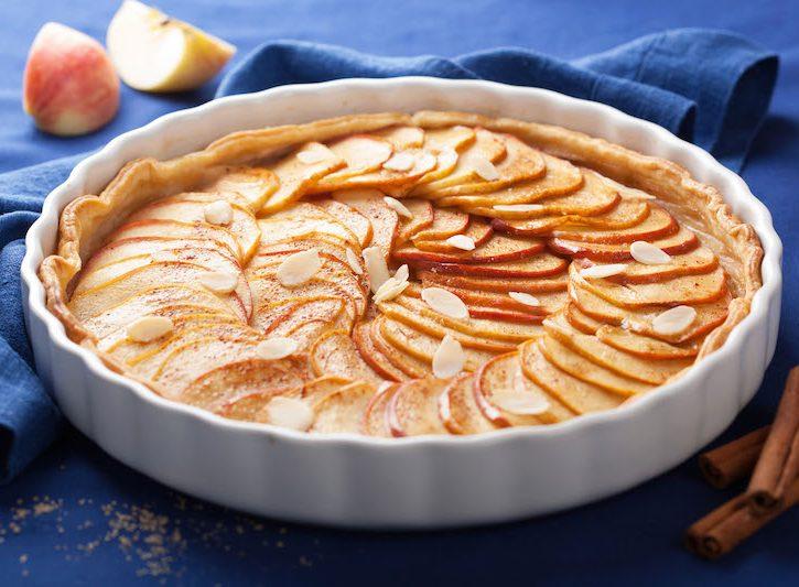 Torta mele, dolce dietetico