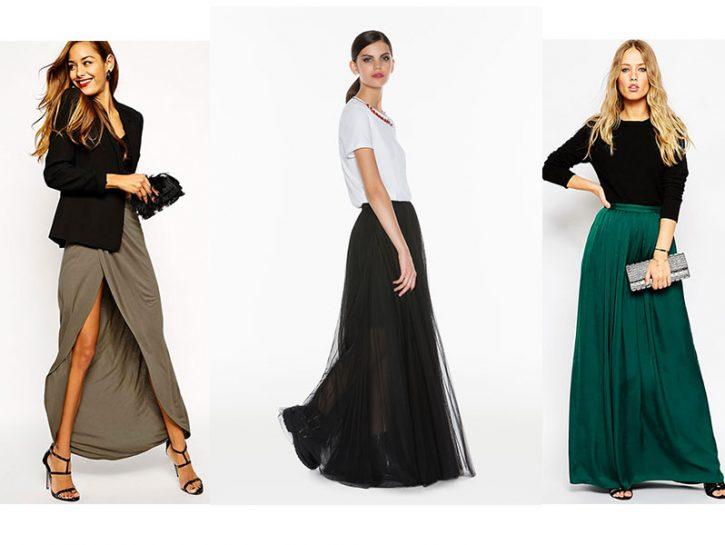 semester Star witch  Come indossare la gonna lunga per l'autunno inverno 2015-16 - Donna Moderna