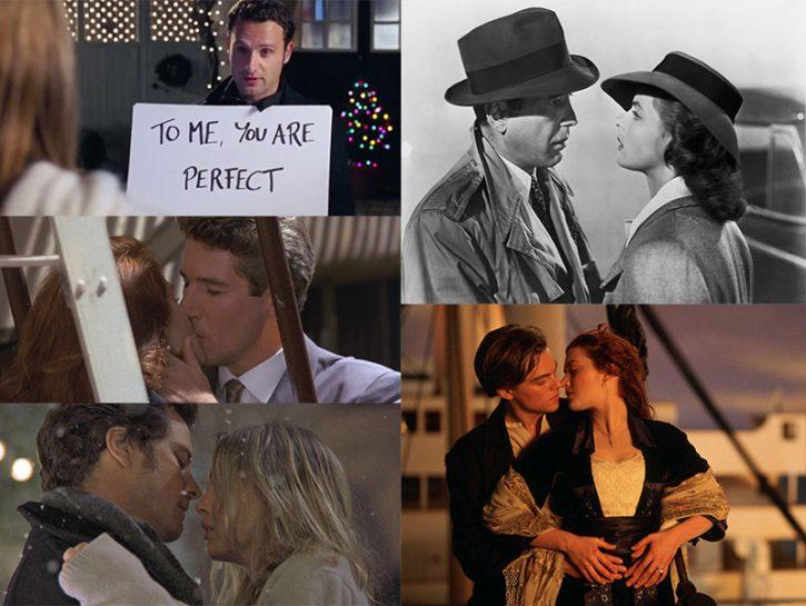 Le scene più romantiche dei film