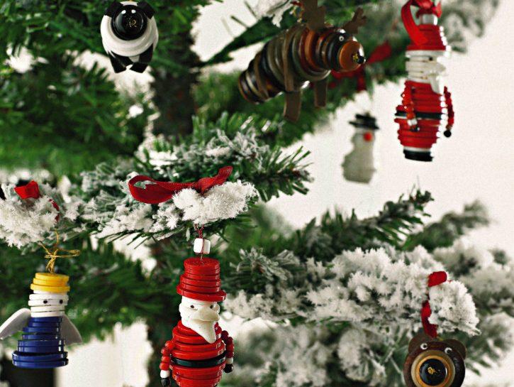 Albero Di Natale Fai Da Te.Albero Di Natale Fai Da Te Le Decorazioni Da Appendere Donna Moderna