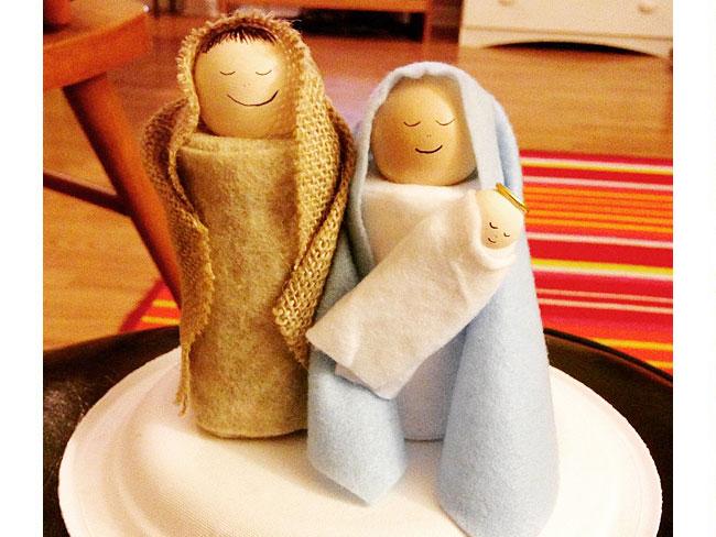 Un'idea simpatica da realizzare anche con i bambini: bastano degli scampoli di stoffa e feltro e del