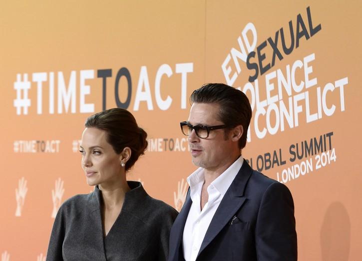 Brad Pitt Angelina Jolie contro la violenza sessuale