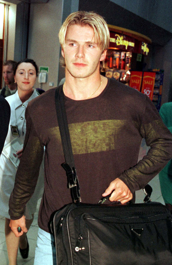 David Beckham Victoria Beckham 1998