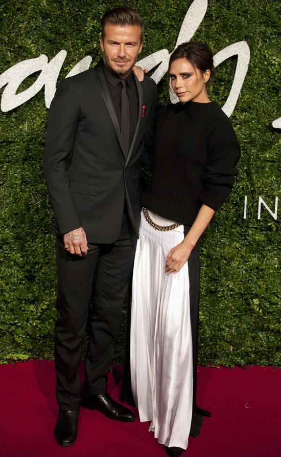 David Beckham Victoria Beckham 2