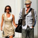 David Beckham Victoria Beckham 2006