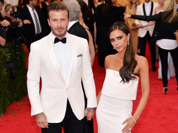 David Beckham Victoria Beckham 3
