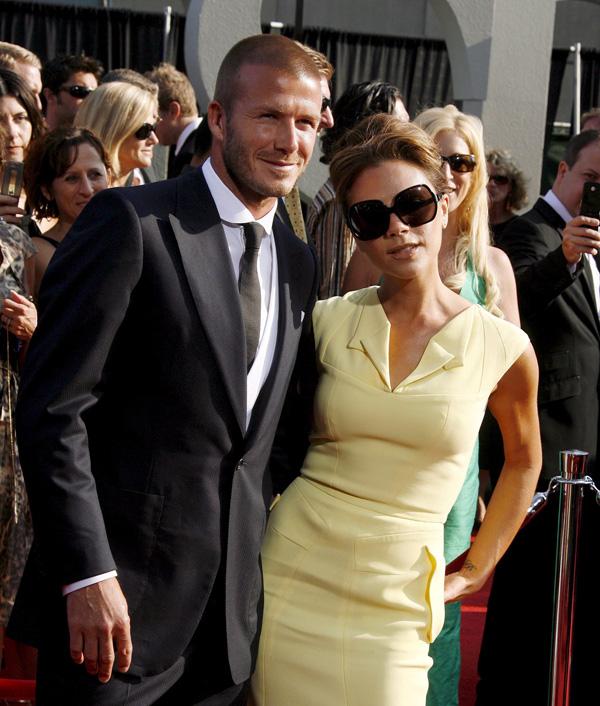 David Beckham Victoria Beckham 6
