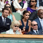 David Beckham Victoria Beckham tennis