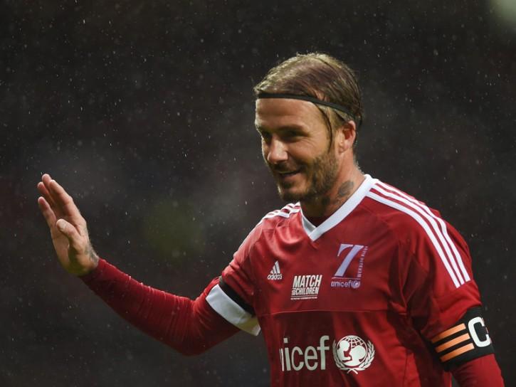 David Beckham calcio