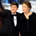 Gianni Morandi con la moglie Anna