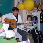 Gianni Morandi ospedale 2006