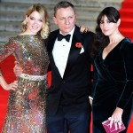 Lea Seydoux Monica Bellucci Daniel Craig 2