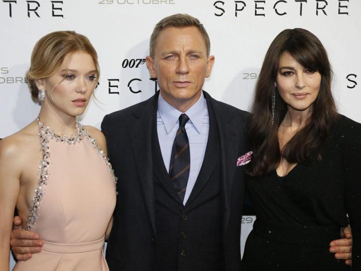 Lea Seydoux Monica Bellucci Daniel Craig