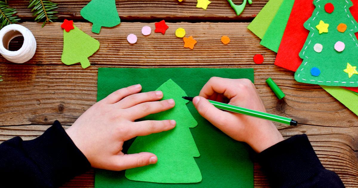 Lavoretti Di Natale Con Carta.Lavoretti Di Natale Da Realizzare Con I Bambini Donna Moderna