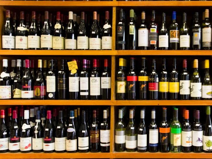 vino e calorie