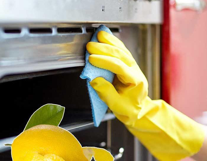 Pulisci il forno con il limone