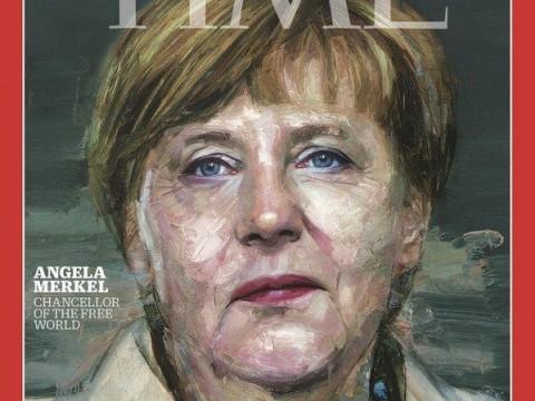 Angela Merkel Time 2015