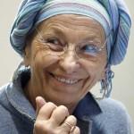 Emma Bonino che ha parlato di cancro in modo rivoluzionario