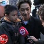 Il papà di Parigi che dice al figlio: «Loro hanno le pistole, noi i fiori»