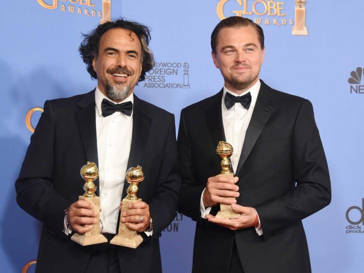L.Di Caprio e Alejandro González Iñárritu