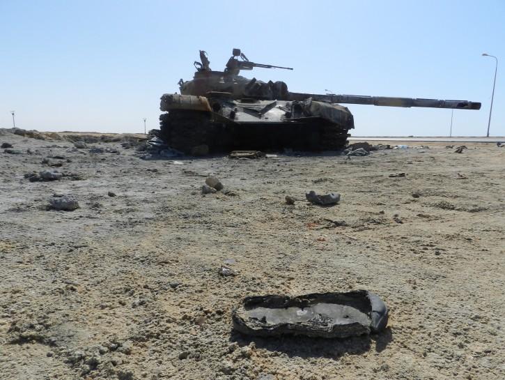 Libia carri armati Tripoli