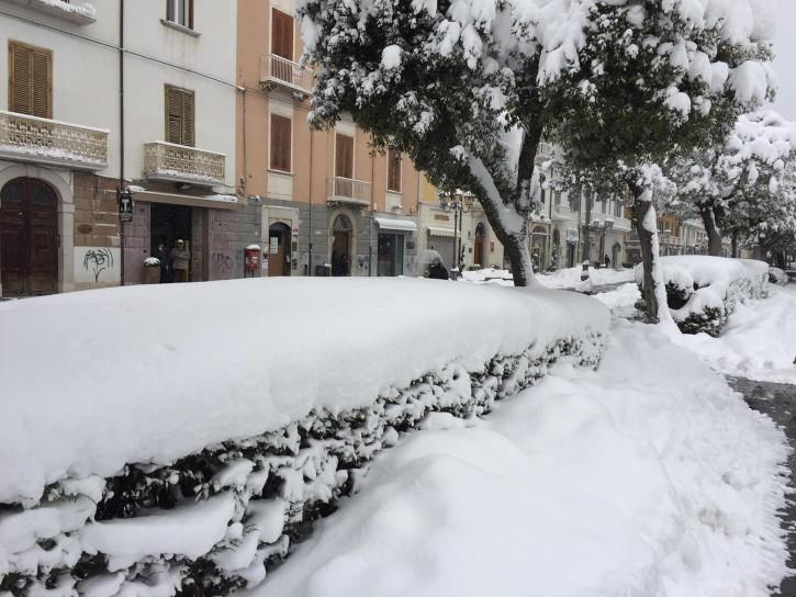 Campoballo Molise neve gennaio 2016