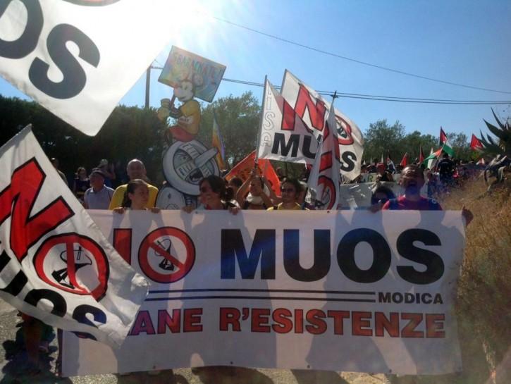 Muos proteste Niscemi