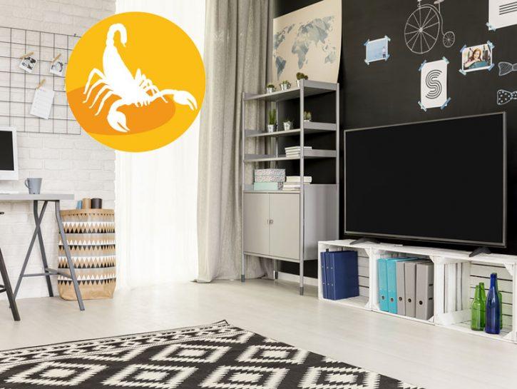 Scorpione: la tua casa ideale