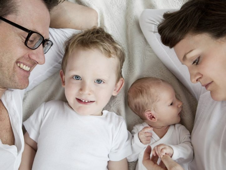 Un nuovo bebè è in arrivo e il primogenito della famiglia sta per trasformarsi in un fratello ma