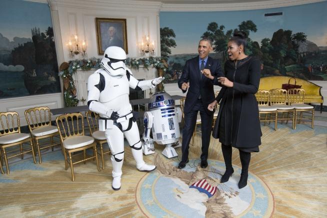 Barack Obama - Star Wars