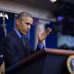 Barack Obama alla Casa Bianca per il discorso di fine anno