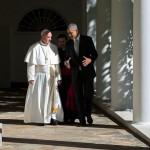 Barack Obama con papa Francesco