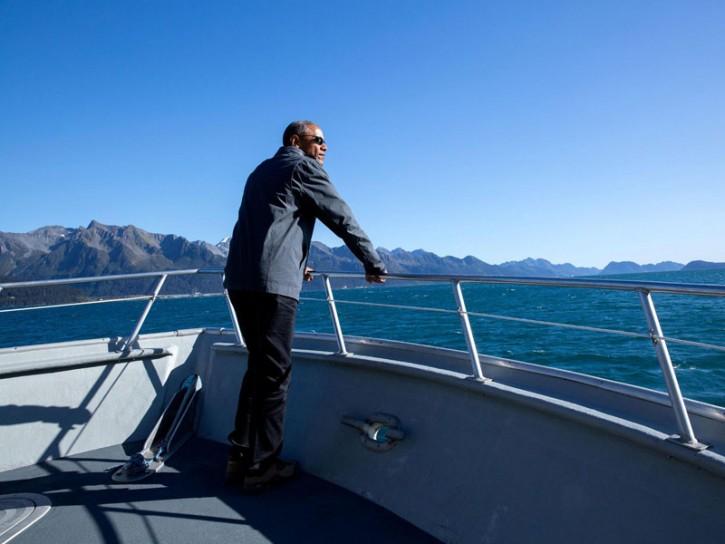 Barack Obama in Alaska