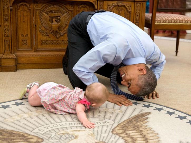 Barack Obama nello Studio Ovale