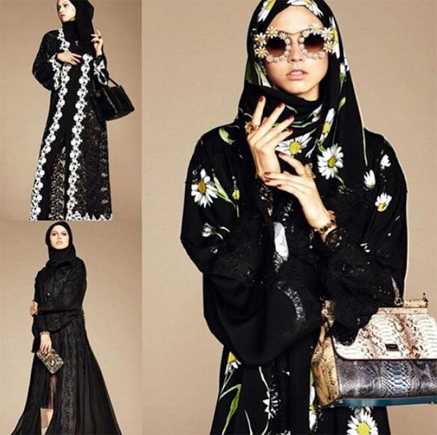 newest ac1a2 350ec Dolce & Gabbana: Abaya, la collezione per le donne musulmane ...