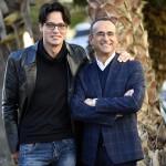 Gabriel Garko e Carlo Conti a Sanremo 2016