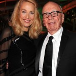 Jerry Hall e Rupert Murdoch