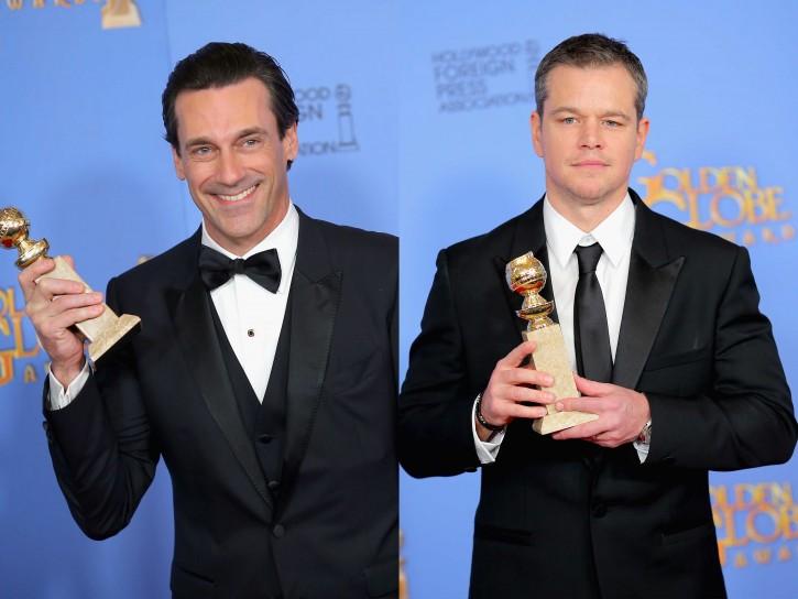 Jon Hamm e Matt Damon