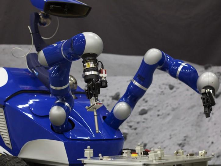 Luna Interact Centaur Rover
